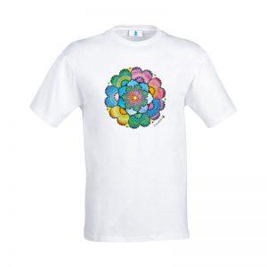 "T-shirt Mandala ""Circolare"""