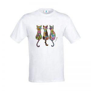 mandala 3 gatti
