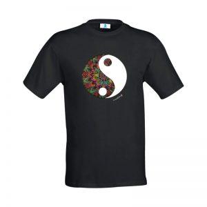 """T-shirt Mandala """"Yin Yang"""""""