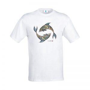 """T-shirt Mandala """"Delfini"""""""