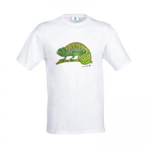 """T-shirt Mandala """"Camaleonte"""""""