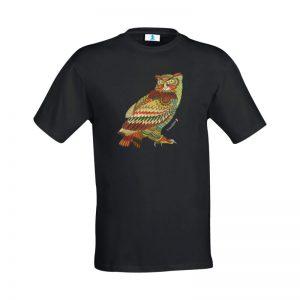 """T-shirt Mandala """"Gufo"""""""