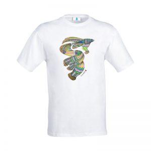 """T-shirt Mandala """"Pesce"""""""