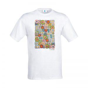 "T-shirt Mandala ""Patchwork"""