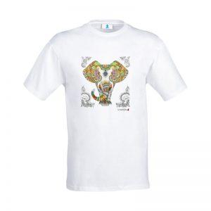 "T-shirt Mandala ""Elefante"""