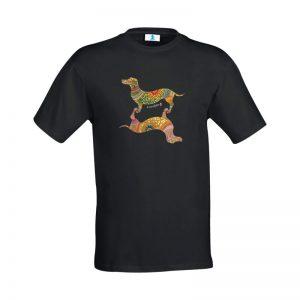 "T-shirt Mandala ""Bassotti"""