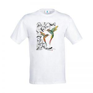 """T-shirt Mandala """"Colibrì"""""""