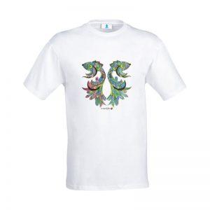 """T-shirt Mandala """"Pesci Gemelli"""""""