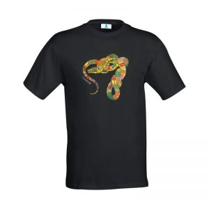 "T-shirt Mandala ""Serpente"""