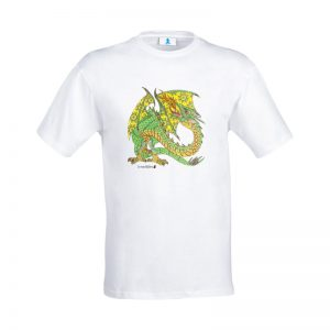 "T-shirt Mandala ""Drago"""