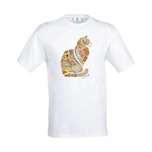 """T-shirt Mandala """"Gatto"""""""