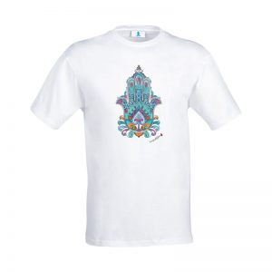 """T-shirt Mandala """"Mano di Fatima"""""""