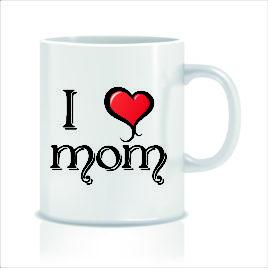 Love Mom – Tazza regalo – festa della mamma