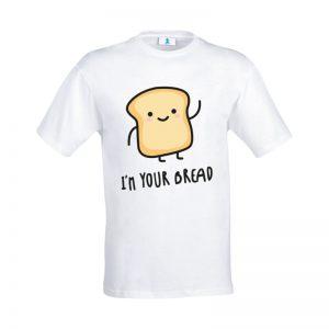 """Coppia di T-shirt """"I'm your bread… I'm your Nutella"""""""
