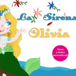 Storia personalizzata per bambini: La sirena…