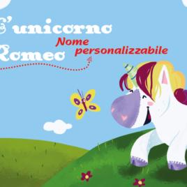 Storia personalizzata per bambini: L'unicorno…