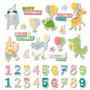 Stickers per il Compleanno