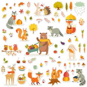 "Stickers ""L'Autunno"""