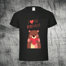 I Love You Beary Much Heart