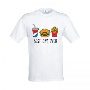 "T-shirt ""Best Day Ever"""