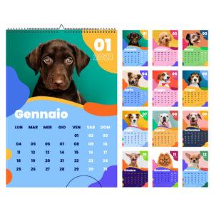 Calendario dei cani 2021