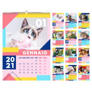 Calendario dei gatti 2021