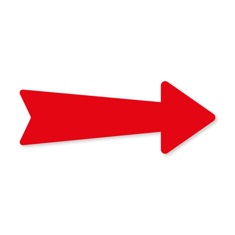 Freccia segnaletica rossa | Grafica, Stampa e Web | Feltyde
