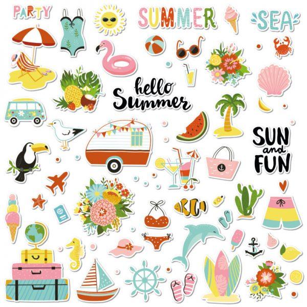 adesivi per bambini estate