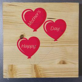 Stampa su legno – Mom Hearts