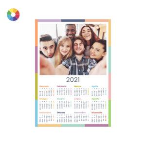 Foto calendario annuale 2021