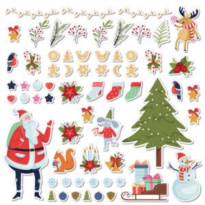 """Stickers """"L'inverno"""""""