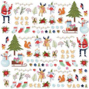 adesivi per bambini inverno