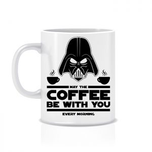 "Tazza ""May the coffee be with you"""