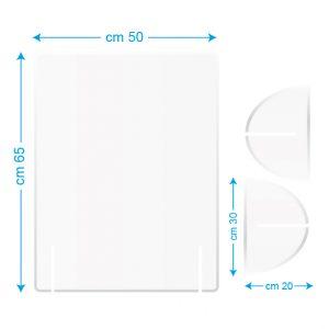 Pannello da scrivania 50x65cm bianco/stampato
