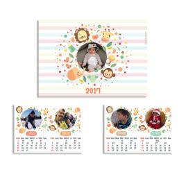 Calendario 6 pagine – album bimbi