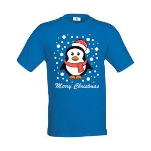 """T-shirt """"Pinguino Merry Christmas"""""""