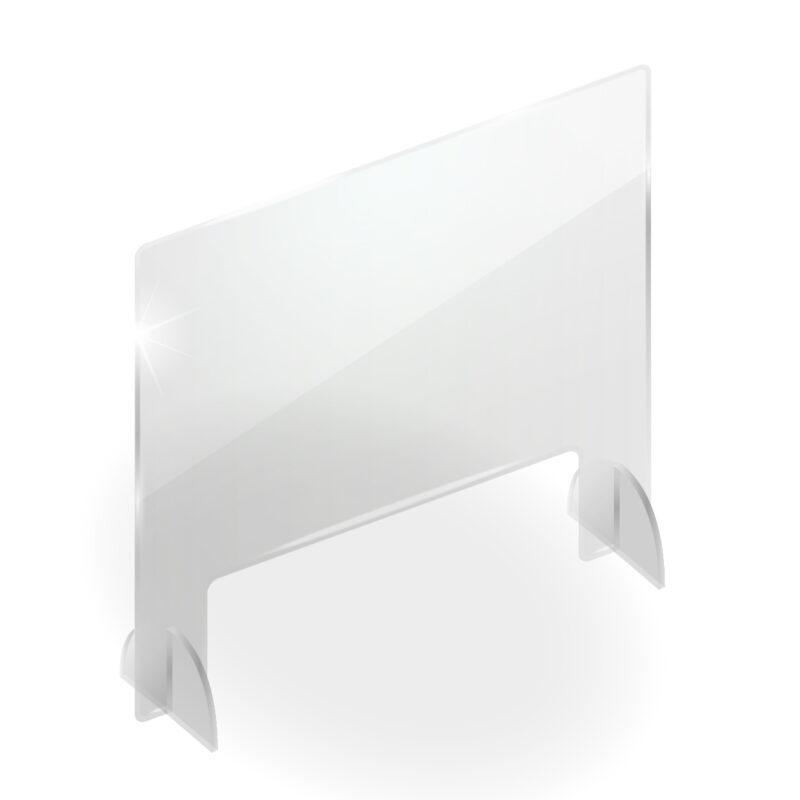 Divisori In Plexiglass Per Esterni schermo protettivo da banco in plexiglass 95x65cm con fessura | grafica,  stampa e web | feltyde
