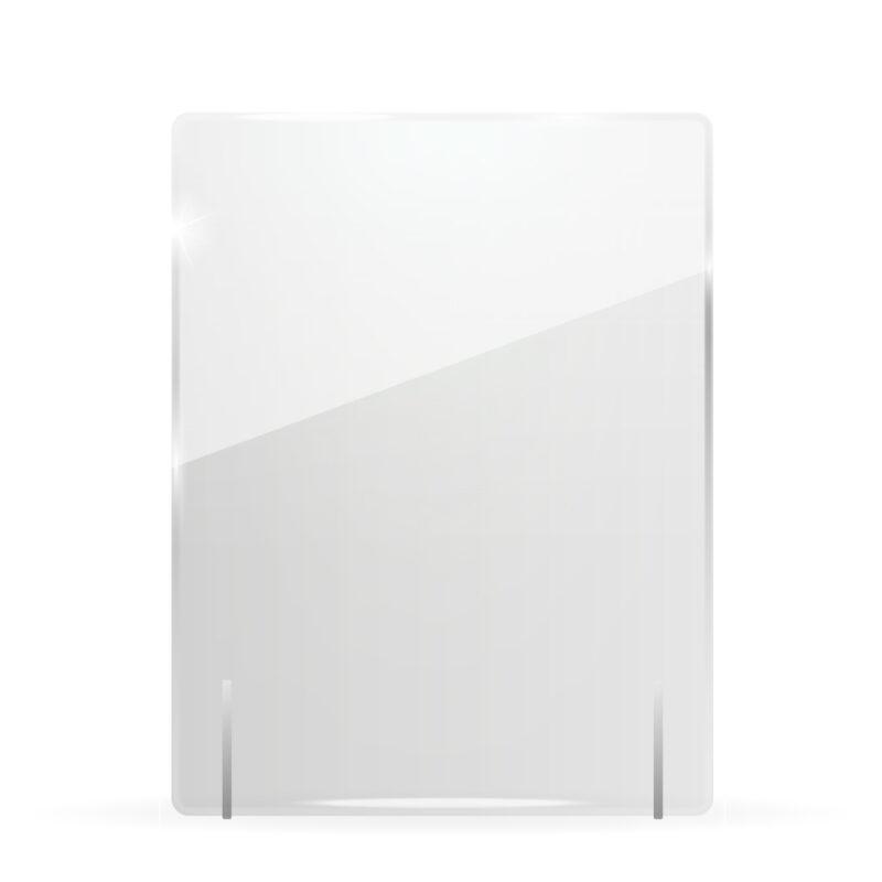 Divisori In Plexiglass Per Esterni schermo protettivo da banco in plexiglass 50x65cm senza fessura | grafica,  stampa e web | feltyde