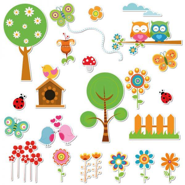 adesivi per bambini primavera