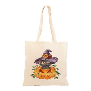 """Shopper """"Gatto di Halloween"""""""