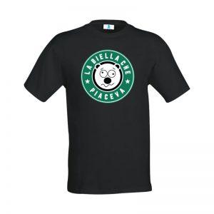 """T-shirt """"La Biella che piaceva"""" Black"""