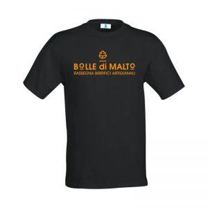 """T-shirt """"Bolle di Malto"""" Black"""