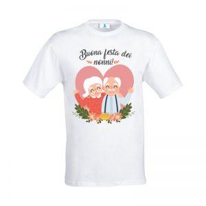 """T-shirt """"Buona Festa dei Nonni"""""""