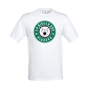 """T-shirt """"La Biella che piaceva"""" White"""
