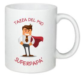 Super Papà – Tazza regalo – Festa del papà