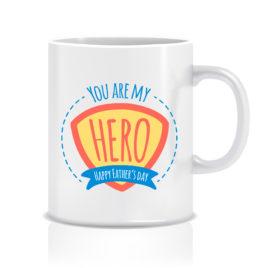 You are my hero – Tazza regalo – festa del papà