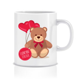 Stampa su tazza – Bear with balloons love