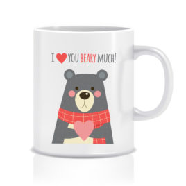 Stampa su tazza – I love you Beary much!