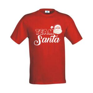 """T-shirt """"Team Santa"""""""