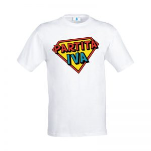 """T-shirt """"Super Partita IVA"""""""